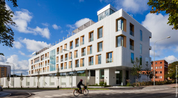 Skandionklinikken er nominert til Årets Bygg 2015 i Sverige