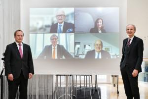 Nemetschek Innovationsstiftung fördert Ausbau des Instituts für angewandte Bauinformatik (iabi) an der Hochschule München