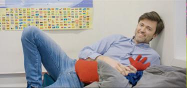 Lekende lett -  med Læringsverkstedets kulturminister Ragnar Sagdahl