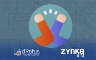 dRofus und Zynka BIM unterzeichnen Kooperationsabkommen in Schweden