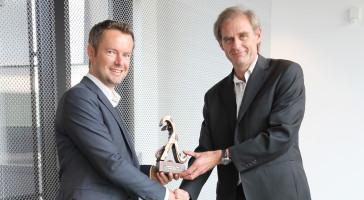 LINKs Ferry Smits er vinner av Lambdaprisen 2014