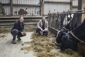Arla Landwirtin Marlen Biss und Jan Philipp Albrecht, Landwirtschaftsminister von Schleswig-Holstein