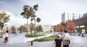 LINK, RATIO og BØLGEBLIKK skal tegne Nyt Drammen Sykehus i Norge