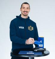 Zlatan Ibrahimović sluit zich aan bij Visa in aanloop naar het FIFA WK voetbal 2018 Rusland™