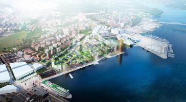 LINK arkitektur tävlar om kontorsfastigheter i Södra Värtan