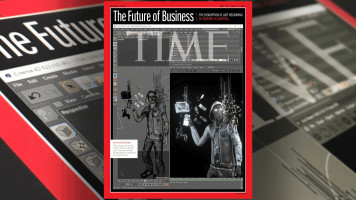 Cinema 4D Featured on the Cover of TIME Magazine!