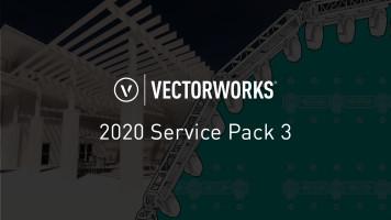 Service Pack 3 für Vectorworks 2020 erschienen