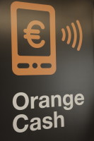 Orange cash logo