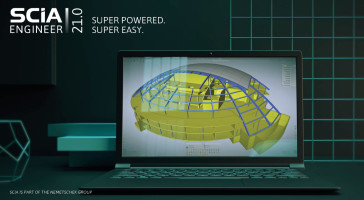 SCIA Engineer 21 - Super Powered. Super Easy: Revolutionary New Interface for SCIA Engineer 21