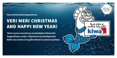 Kiwa Inspecta heitti joululahjat mereen - lahjoitamme tänä vuonna hyvää happea Itämerelle