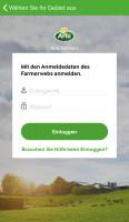 Startbildschirm_Arla Farmers App
