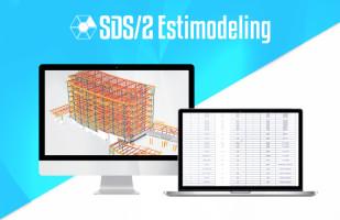 SDS/2 Estimodeling als heißes Produkt des Stahlbaus 2020