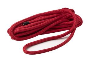 Bild med länk till högupplöst bild PolyRopes Dockline förtöjningslina röd