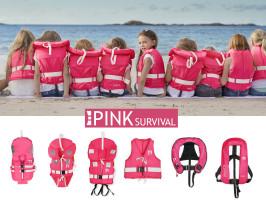 Bild med länk till högupplöst bild Regatta Pink Survival - rosa serie flytvästar, miljöbild