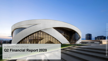 Nemetschek Group: Stabile Umsatzentwicklung bei hoher operativer Marge im Q2 2020 bei weiterhin unsicherem Marktumfeld