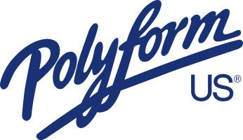 Bild med länk till högupplöst bild Polyform US - logo, blå