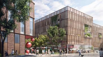 Lidl utvecklar hållbart huvudkontor i samarbete med LINK arkitektur