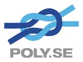 Bild med länk till högupplöst bild Poly.se logo rgb