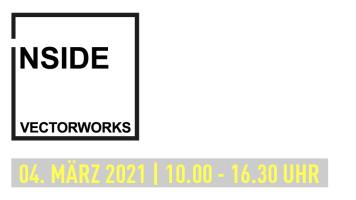 INSIDE VECTORWORKS 2021: Online-Event am 4. März