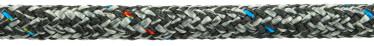 Bild med länk till högupplöst bild PolyRopes Poly-Braid-32 grå med svart kod