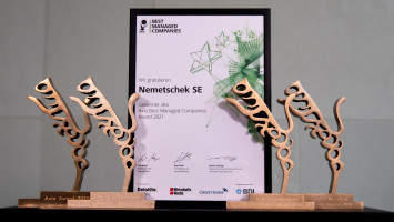 Nemetschek Group receives AxiaBest Managed Company Award for Outstandingly Managed Companies