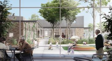 LINK arkitektur indbudt til Fællesskabets Hus og Kvinde-/Barnhus