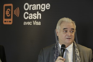 Conférence de presse Orange cash