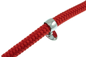 Bild med länk till högupplöst bild Trappräckslina / Dekorationslina Design röd