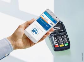 Gemeinsam mit Visa ermöglichen Volksbanken und Raiffeisenbanken ihren Kunden mobiles Bezahlen