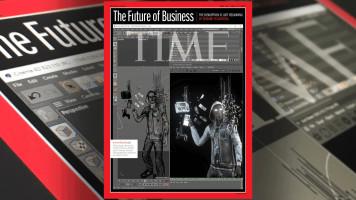 Cinema 4D auf dem Cover des TIME Magazine!