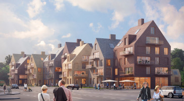 LINK arkitektur och Fastighets AB 3Hus vinner markanvisningstävling på Råå, Helsingborg