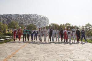 Formula E competitors - Beijin
