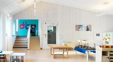 Solbackens førskole er nominert til Övre Norrlands Arkitekturpris!