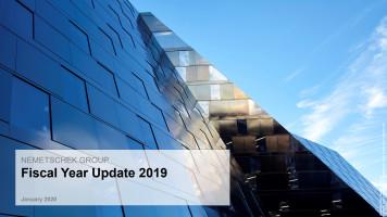 Nemetschek Group übertrifft im Geschäftsjahr 2019 ihre Ziele für Umsatz und Profitabilität