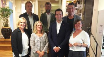 Upprop vårdmiljö: arkitekter uppvaktar sjukvårdsministern
