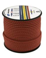 Bild med länk till högupplöst bild Poly-Light-8 röd, 3 mm x 25 m, spole