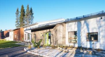 Solbackens forskole nomineret til Övre Norrlands Arkitekturpris