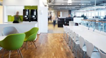 Stor satsning på återanvändning av interiöra byggmaterial från kontor