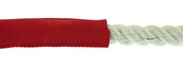 Bild med länk till högupplöst bild PolyRopes PROTECT slitskydd, röd