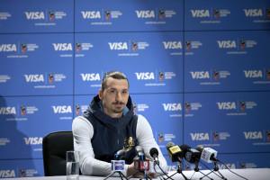 Visa bringt Zlatan Ibrahimović zur  FIFA Fussball-Weltmeisterschaft 2018 Russland™