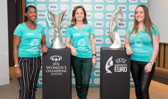 Visa und UEFA schliessen wegweisende  Frauenfussball-Partnerschaft