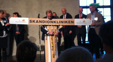 Høytidlig innvielse av Skandionkliniken