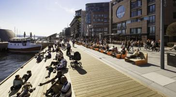 AKER BRYGGE er nominert til Cityprisen 2016