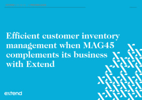 Extend's new customer – Europe's leading Industrial Integrator, MAG45