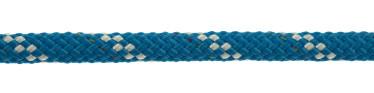 Bild med länk till högupplöst bild PolyRopes Poly-Braid-32 blå med vit kod