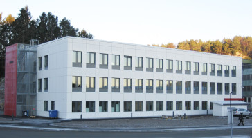 Et af Nordens mest energieffektive byggerier er nu færdigopført