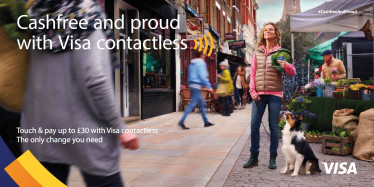 "Visa Europe launches ""Cashfree and Proud"" campaign"