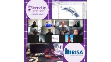 RISA Mitarbeiter unterrichten 8-wöchige MINT-Module für Schüler in Orange County