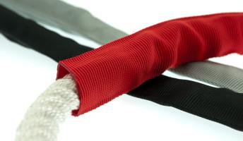 Bild med länk till högupplöst bild PolyRopes PROTECT slitskydd, samlingsbild