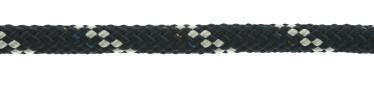 Bild med länk till högupplöst bild PolyRopes Poly-Braid-32 navy med vit kod